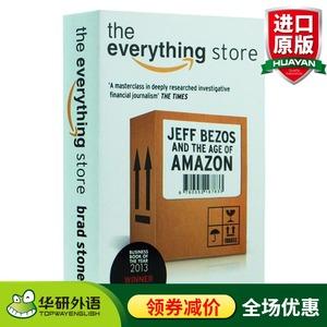 一网打尽 贝佐斯与亚马逊时代 英文原版 The Everything Store Jeff Bezos and the Age of Amazon 英文版进口经济管理类书籍