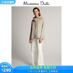 春夏折扣 Massimo Dutti女裝 商場同款 2020春夏新款短款科技面料派克外套 06724604710