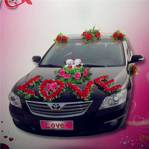 婚庆婚车装扮