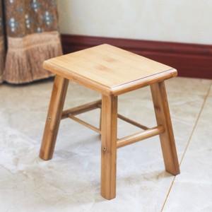 木制椅子木质简约坐凳卡通櫈农用成人安全小蹬子矮凳家用门口四方