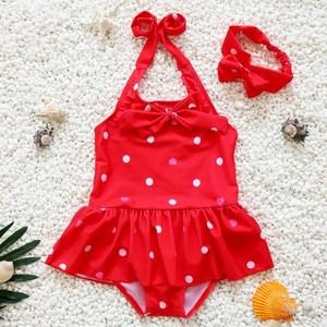 婴儿游泳馆0-3岁儿童泳衣防水防漏泳裤小孩小女童女宝宝1岁2岁