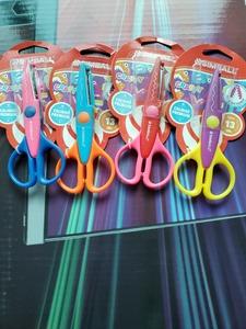 糖果色可爱实用 照片花边 手工DIY相册安全剪刀 儿童美术剪刀