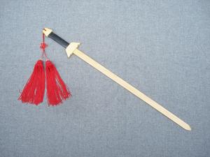 背带全木木制武术男孩大刀带鞘竹制儿童玩具刀剑手杖剑以上青龙剑