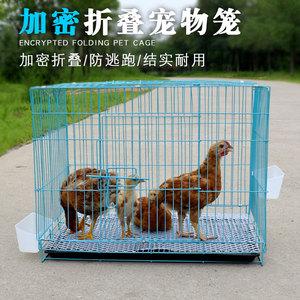 小鸡笼家用小号育雏鸡笼鹌鹑鸽子兔子笼养殖笼狗笼小型加密鸡笼子