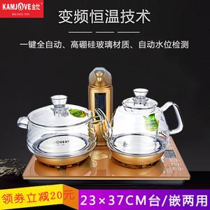 电热水壶泡茶专用金灶茶具玻璃电磁炉茶炉自动抽水烧水壶电茶壶