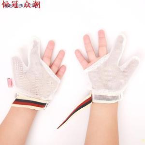 日本進口代寶寶戒吃手神器吸手指矯正器裹拇指嬰兒防抓手套兒童防