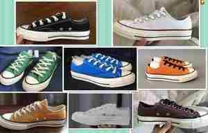 欧美匡威1970s三星标黑白落叶黄橄榄绿海军蓝低帮男鞋女鞋帆布鞋