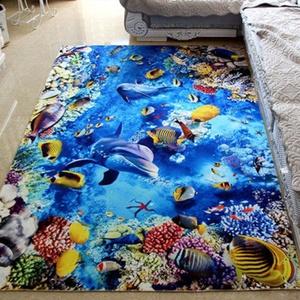 地毯臥室客廳可愛地毯床邊毯防滑入戶門墊滿鋪大面積定制卡通兒童