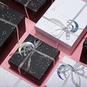 ins风礼品盒精美简约韩版生日礼物包装盒子长?#21483;未?#21495;送伴手礼盒