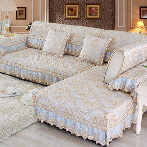 布艺沙发套罩定做全包通用图片