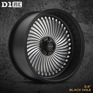 D1RC轮毂 3.2寸金属攀爬车仿真轮毂 AXIAL TRX4 非VP轮毂 单个