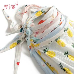 夢蜜純棉哺乳巾外出夏薄多功能喂奶巾防走光喂奶罩衣遮擋披肩透氣
