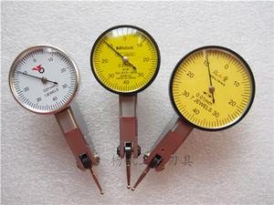 正品陕西银燕百分表 高精度北量杆杠百分表 校表仔 指示表0-0.8mm
