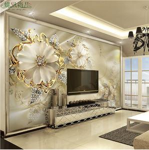 3d壁纸壁画电视墙