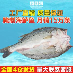 腌制海鲈鱼750g-850g净重 烤鱼冰冻开背鱼厨总管烤鱼清江鱼钩炉鱼
