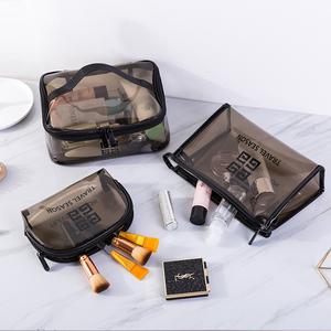 透明化妝包女ins風超火小號便攜大容量旅行收納袋盒隨身洗漱品包