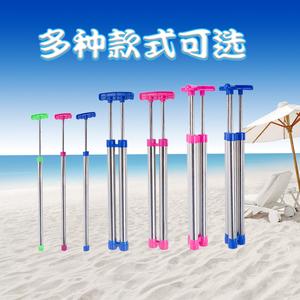 抽拉式不锈钢管漂流水枪水炮成人大号高压呲水喷水枪儿童玩具水枪