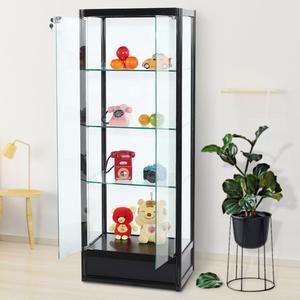 手办精品样品透明玻璃产品定制模型收藏展柜玩具礼品展示柜陈列柜