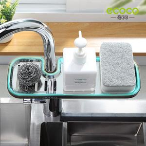 水龙头置物架沥水架不锈钢水槽洗碗水池收纳神器厨房用品家用大全