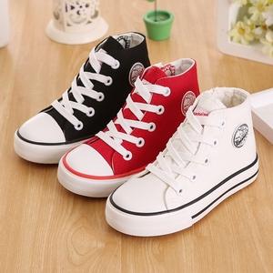 回力童鞋儿童高帮帆布鞋春季新款男童布鞋女童运动鞋中大童板鞋潮