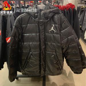 Air Jordan AJ 男子冬季保暖防風連帽棉服外套夾克 CQ4698-010