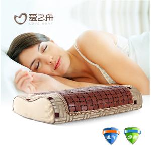 夏季夏天清凉麻将竹粒记忆枕头枕芯清爽慢回弹护颈枕头枕芯