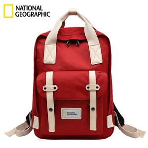 國家地理背包女運動戶外時尚電腦雙肩包男旅行防水學生情侶書包大