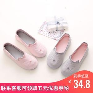 夏季月子鞋薄款产后软底春秋包跟室内鞋夏天孕妇鞋子产妇月子拖鞋