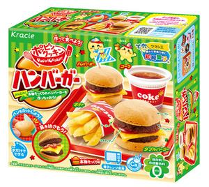 日本食玩漢堡薯條套餐迷你小廚房小玲玩具小伶曰本食玩時完女孩