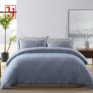 魯錦初之帛老粗布四件套全棉純棉床單被套床上用品單雙人床套件
