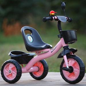儿童三轮车脚踏车1-5岁男女孩自行车3婴幼儿宝宝手推车2儿童单车