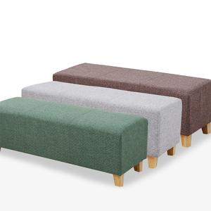 长方形布艺长条沙发凳客厅时尚试换鞋凳创意个性服装店试衣间凳子