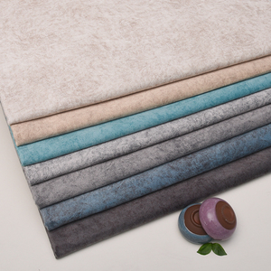素色荷蘭絨面料沙發布料加厚印花短毛絨布坐墊套軟包硬包背景布藝