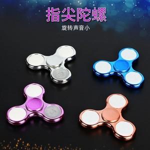 发光手指旋转陀螺减压玩具七彩灯坨螺指尖陀螺儿童小孩小学生。