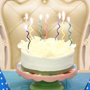 生日蛋糕蜡烛螺旋