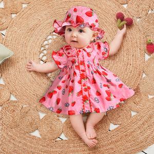 巴拉巴拉嬰兒裙子夏裝公主裙夏天女童連衣裙寶寶衣服夏季洋氣兒童