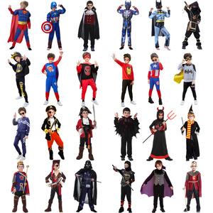 萬圣節兒童服裝男男童cos蝙蝠俠套裝披風衣服男孩衛衣童裝演出服