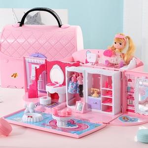 女孩玩具過家家娃娃屋公主益智力三四五周23-6-8歲兒童45生日禮物