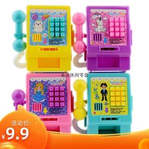 卡通电话机压片糖果儿童玩具零食过家家生日礼物10g*1个包邮