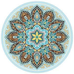 圆形天然橡胶防滑瑜伽垫家用舞蹈健身空中瑜珈地毯打坐冥想大圆垫