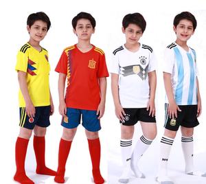 儿童国家队 俱乐部足球服 巴西 德国 阿根廷 ac米兰儿童球衣