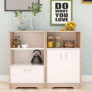 烧水茶台小柜子办公室立式柜架组合茶叶柜立柜创意客厅北欧茶水台