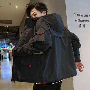 秋冬季工裝外套男士2019新款韓版潮流潮牌學生夾克帥氣棒球上衣服