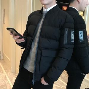 棉衣男2019冬季新款棉袄短款外套 男士潮流保暖帅气冬装韩版棉服