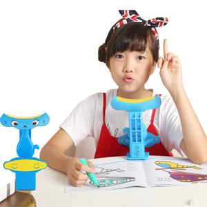 写字坐姿矫正器课桌支撑防近视姿势支架儿童小学生改正坐姿纠正器图片