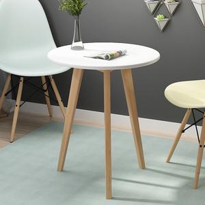北歐小圓桌簡約椅子組合迷你家用小茶幾現代創意休閑洽談小桌子
