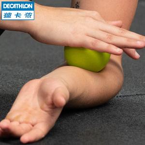 迪卡儂按摩球筋膜球瑜伽健身深層肌肉放松足底手腕康復訓練CRO
