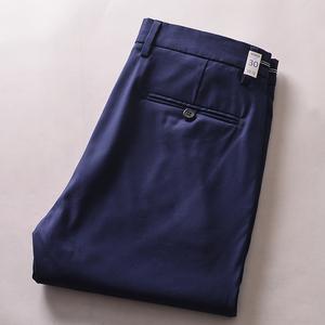 夏季都要的爽滑薄款九分褲 外貿男裝工廠剪標修身小直筒休閑褲子