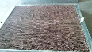 水帘墙15公分厚不锈钢边框镀锌框架养殖场用风机水帘?#23548;?#21378;房降温