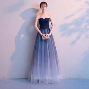 明星同款晚礼服裙女2019新款高端高贵显瘦气质宴会气场女王连衣裙